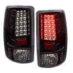 2003 Chevy Tahoe LED Tail Lights Black Clear