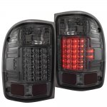 2001 Ford Ranger LED Tail Lights Smoked