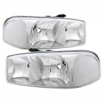 2000 GMC Sierra Clear Euro Headlights