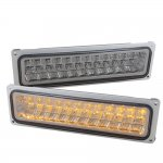 Chevy 3500 Pickup 1994-2000 LED Bumper Lights Smoked
