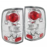 2004 Ford F150 Clear Custom Tail Lights