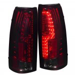 1998 Chevy 3500 Pickup Tinted Custom LED Tail Lights