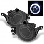 Dodge Ram 3500 2003-2009 Smoked Halo Projector Fog Lights