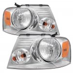 2004 Ford F150 Clear Euro Headlights