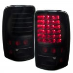 GMC Yukon Denali 2001-2006 Black Smoked LED Tail Lights