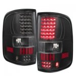 2007 Ford F150 LED Tail Lights Blacked Out