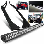 1993 Jeep Wrangler YJ Double LED Light Bar with Mounting Brackets
