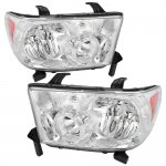 2013 Toyota Tundra Chrome Headlights