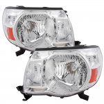 2010 Toyota Tacoma Clear Euro Headlights