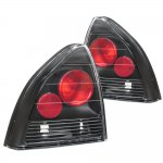 Honda Prelude 1992-1996 JDM Black Altezza Tail Lights