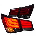 2012 Chevy Cruze LED Tail Lights Red Smoked