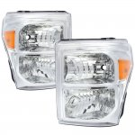 2011 Ford F450 Super Duty Headlights