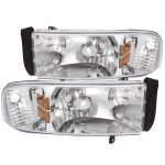 2000 Dodge Ram Clear Euro Headlights