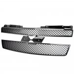 2010 Chevy Tahoe Black Mesh Grille