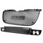 GMC Yukon 2007-2014 Black Grille and Bumper Grille Set