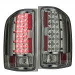 2013 Chevy Silverado 2500HD Smoked LED Tail Lights