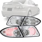 Mazda 6 Sedan 2003-2008 Clear LED Tail Lights