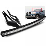 Dodge Ram 2500 2003-2009 Curved Double LED Light Bar with Mounting Brackets