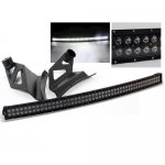 Ford F150 2004-2008 Black Curved Double LED Light Bar with Mounting Brackets