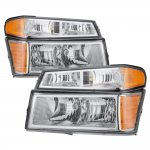 Chevy Colorado 2004-2012 Clear Headlights and Parking Lights