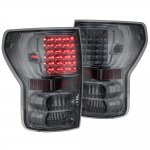 2013 Toyota Tundra Smoked LED Tail Lights