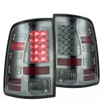 Dodge Ram 2009-2015 Smoked LED Tail Lights