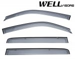 2010 Honda Pilot Smoked Side Window Vent Visors Deflectors Rain Guard Shade Premium Series