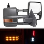 2017 Chevy Silverado Towing Mirrors LED Lights Power Heated
