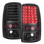 GMC Yukon Denali 2001-2006 Blacked Out LED Tail Lights