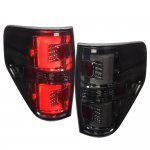 2010 Ford F150 Smoked LED Tail Lights
