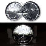 2002 Jeep Wrangler Black LED Sealed Beam Headlight Conversion