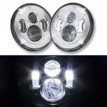 2005 Jeep Wrangler LED Projector Sealed Beam Headlights