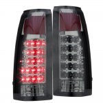 1998 Chevy 3500 Pickup Smoked LED Tail Lights