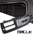 1997 GMC Sierra Black Replacement Grille