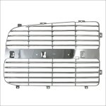 Dodge Ram 2002-2003 Right Chrome Replacement Grille Insert Panel