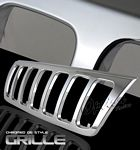 1999 Jeep Grand Cherokee Chrome Replacement Grille