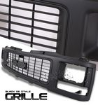 1991 GMC C10 Black OEM Style Seal Beam Type Grille