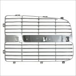 Dodge Ram 2002-2003 Left Chrome Replacement Grille Insert Panel