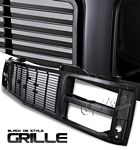 1990 GMC Sierra Black Replacement Grille