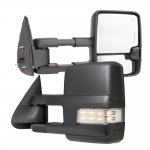 GMC Sierra 1999-2002 Towing Mirrors Clear LED Lights Power Heated