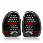 1996 Dodge Caravan Black LED Tail Lights