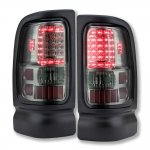 2002 Dodge Ram 3500 Smoked LED Tail Lights