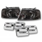 Ford F150 2004-2008 Smoked Euro Headlights