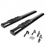 2010 Ford F150 Regular Cab Nerf Bars Black 6 Inches Oval