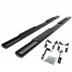 2012 Dodge Ram 1500 Quad Cab Nerf Bars Black 5 Inches Oval