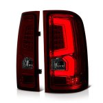 2014 GMC Sierra 2500HD Custom LED Tail Lights Red Tinted