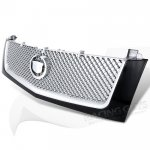 Cadillac Escalade 2002-2006 Black and Silver Mesh Grille