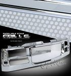 GMC Suburban 1994-1999 Chrome Punch Grille
