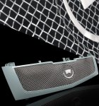 Cadillac Escalade 2002-2006 Stainless Steel Grey Mesh Grille