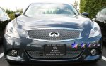 2011 Infiniti G37 Sedan Chrome Stainless Steel Wire Mesh Grille